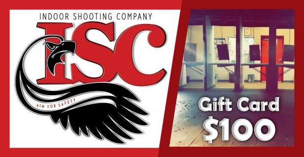 Gift Card $100 | Indoor Shooting Company | Tampa Shooting Range